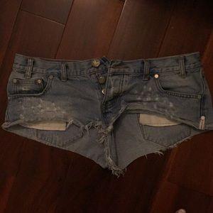 One teaspoon trash whore shorts 29